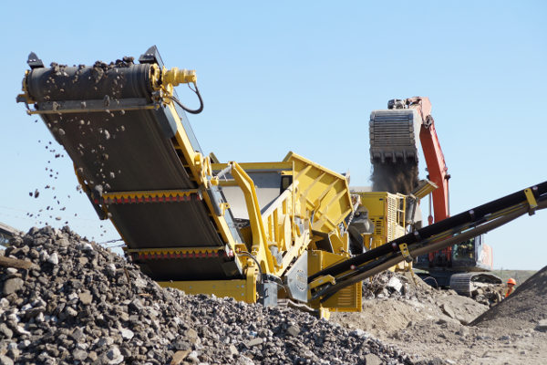 Onsite Mobile Concrete Crushing